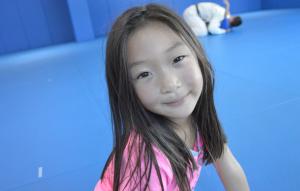 Girl's jiu-jitsu